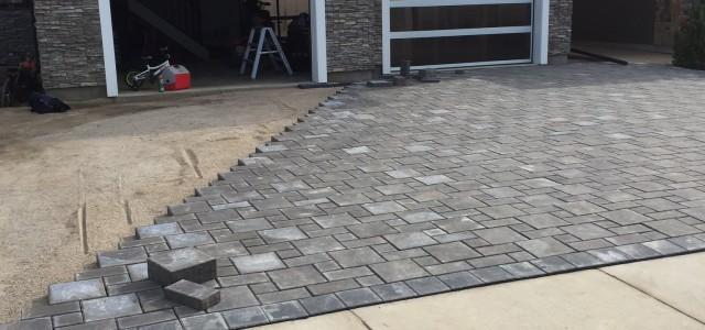 stone driveway
